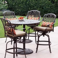 Bar Height Table And Chairs Outdoor Where To Buy A Bean Bag Chair Patio Sets Wayfair Lebanon 5 Piece Dining Set With Cushions