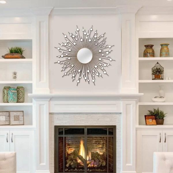 Stratton Home Decor Sunburst Mirror Wall &
