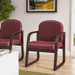 Chair With Arms Sitting Room Styles Wooden Wayfair Kathi Reception Arm