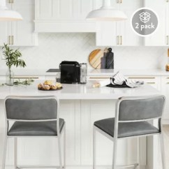Stools For Kitchen Bar Top Tables Counter Height You Ll Love Wayfair Bork 24 Stool Set Of 2