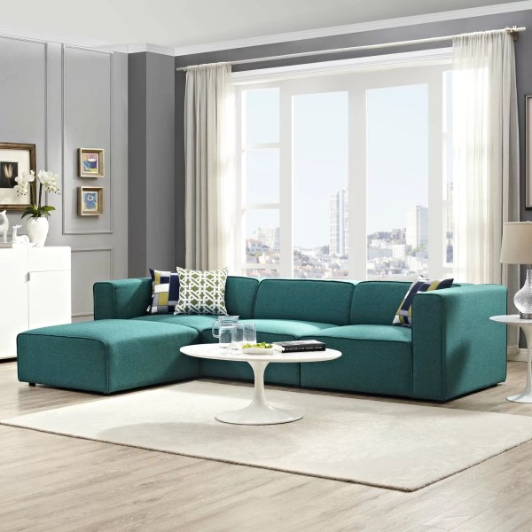 modern living room with sectional sofa Modern & Contemporary Living Room Furniture | AllModern