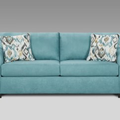 Down Wrapped Cushion Sofas Blue Modern Sectional Sofa Norris With Cushions Home The Honoroak