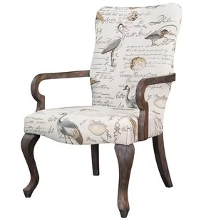 tub fabric accent chair patchwork covers wedding rustic farmhouse chairs birch lane bunyard armchair