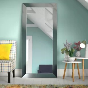 full size mirror in living room virtual dresser mirrors you ll love wayfair dalessio wide tall length