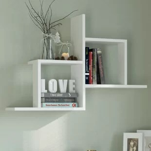 how to decorate living room wall shelves 4 piece set you ll love wayfair co uk quickview