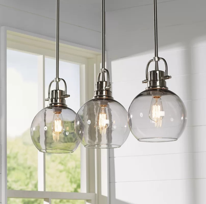 Chicken Wire Pendant Light