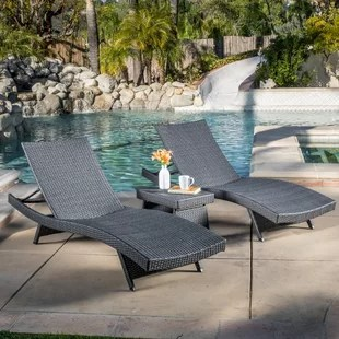folding outdoor lounge chair rocking springs chairs you ll love wayfair quickview
