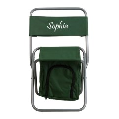 Folding Chair Embroidered Chairs For Home Theater Room Freeport Park Stevenson Camping Wayfair