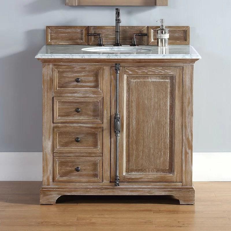 Darby Home Co Belhaven 36 Single Driftwood Bathroom