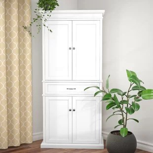 tall kitchen cabinets wall tiles cabinet pantry wayfair quickview