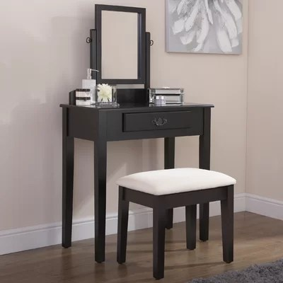 Black Dressing Tables Youll Love