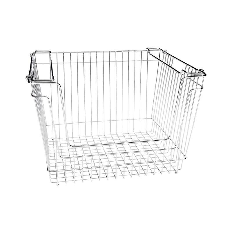 Simplify Stackable Extra Large Storage Wire Basket