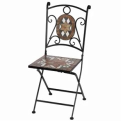 Metal Patio Chair Ashley Chairs Sale Retro Wayfair Cooper Square Mosaic