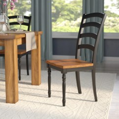 Ladderback Dining Chairs The Sex Chair Courtdale Ladder Back Solid Wood Reviews Birch Lane