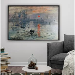 nice art for living room curtains tall windows framed you ll love wayfair quickview