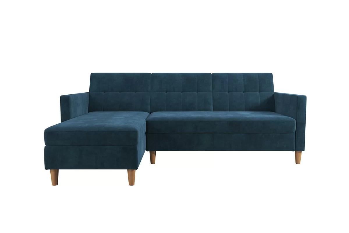beeson sleeper sofa spencer reversible chaise energywarden