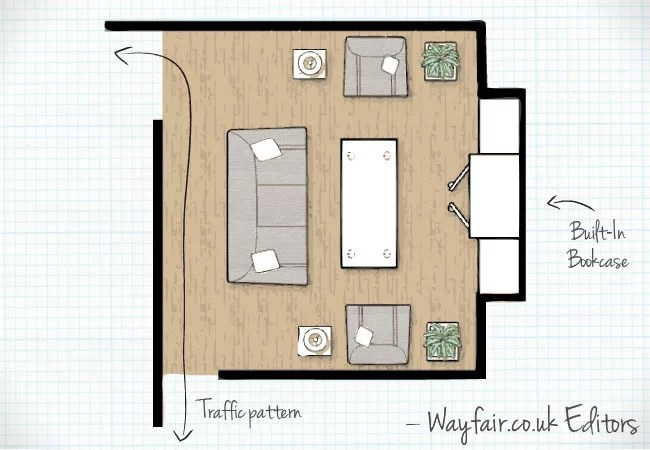 living room plan design simple false ceiling for rectangular 3 of the best layouts wayfair co uk