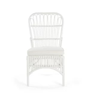 hanging rattan chair universal covers ivory wayfair quickview