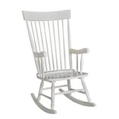 White Wood Rocking Chair Nursery Sport Brella Baby Chairs Wayfair Quickview Cherry Gray