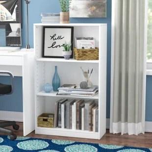 kitchen bookshelf custom cabinet doors bookcase wayfair quickview