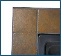 Blue Rhino Uniflame Tile Mantel Steel Propane Fire Pit ...