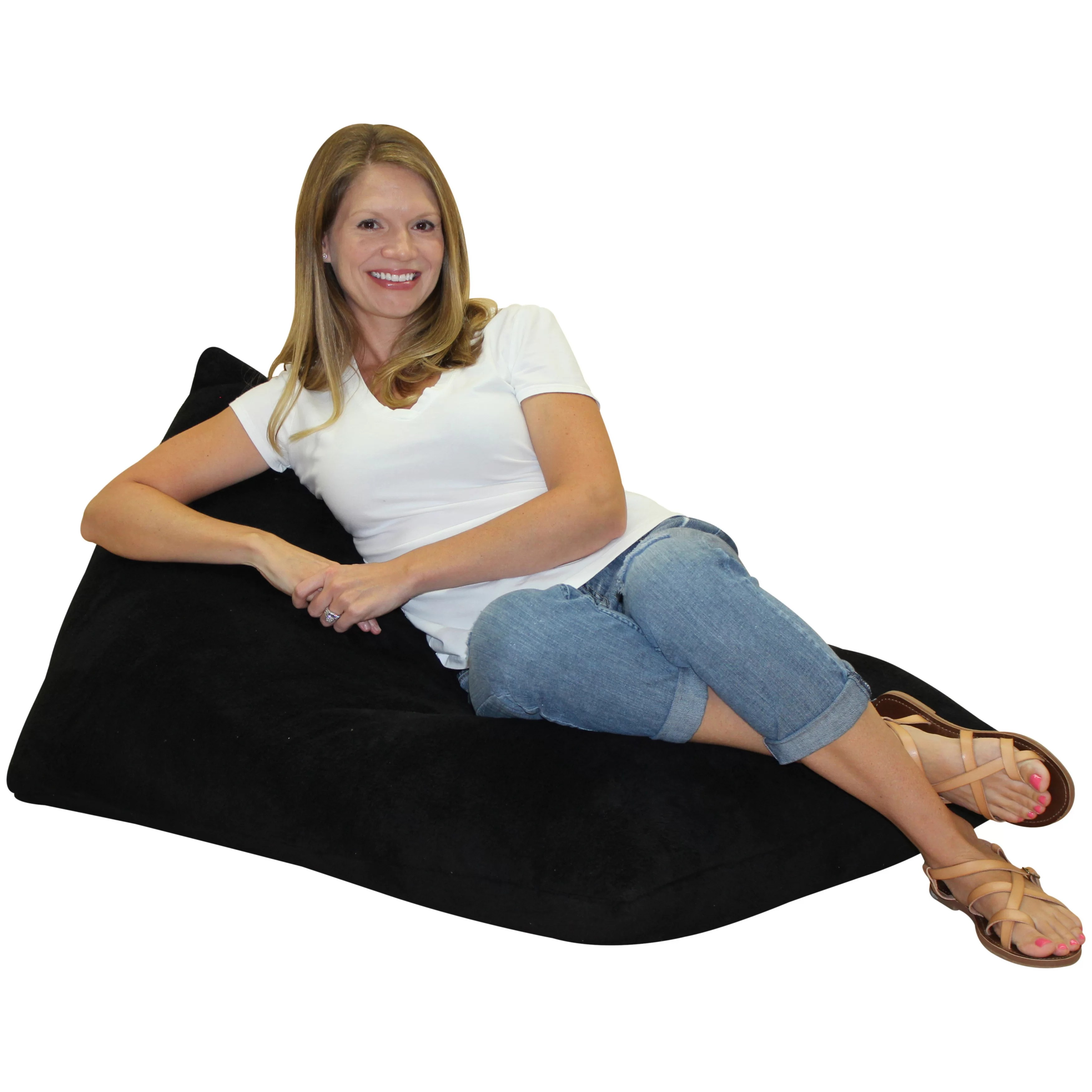 foam bean bag chair custom chairs latitude run teardrop wayfair