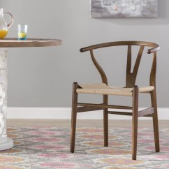 Solid Wood Chairs Antique Gold Accent Mistana Dayanara Dining Chair Reviews Wayfair