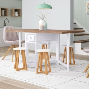 folding kitchen tables commercial equipment for sale fold away dining table wayfair co uk