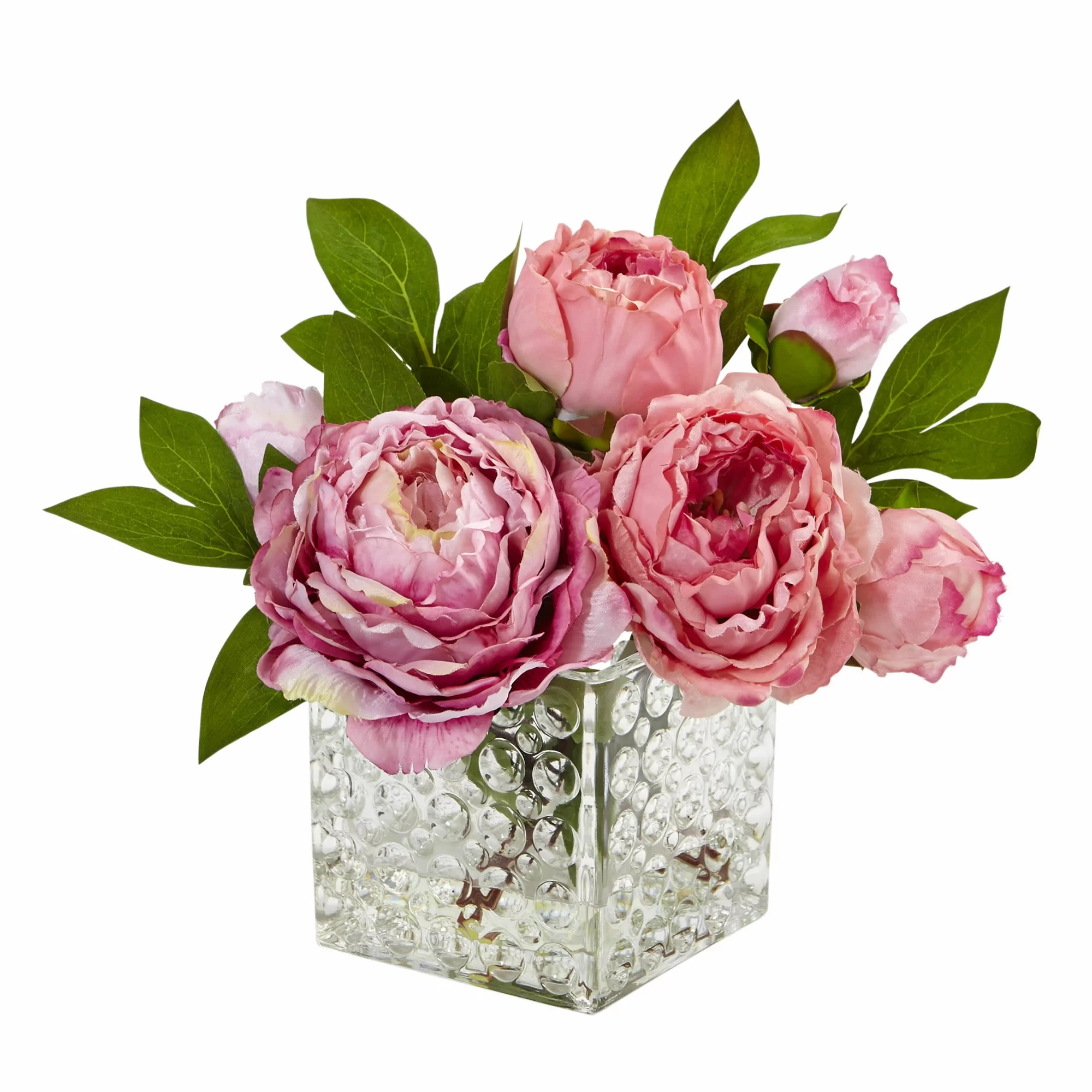 peony floral arrangements in