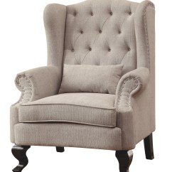 Traditional Wingback Chair Folding In Costco Enitiallab Mareena Reviews Wayfair