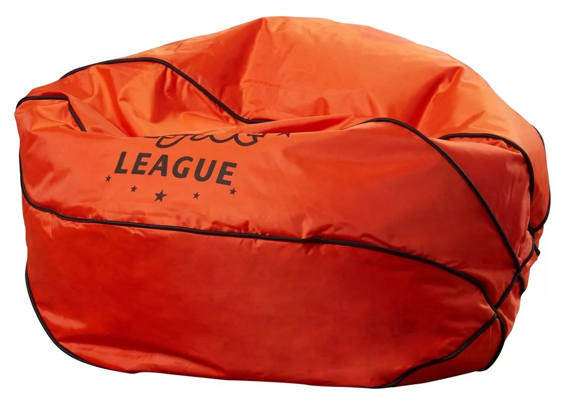 sports bean bag chairs best potty comfort research big joe basketball chair