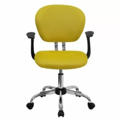 Yellow Office Chair Pipeless Pedicure Chairs You Ll Love Wayfair Quickview