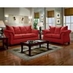 Red Living Room Sets Lake House Decor Wayfair Quickview