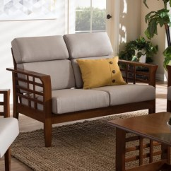 Living Room Loveseat Moroccan Style Images Wholesale Interiors Baxton Studio Armanno 2 Seater