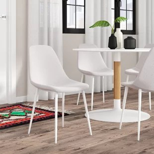 set of 4 dining chairs frank lloyd wright chair plans kitchen you ll love wayfair woodhouse upholstered