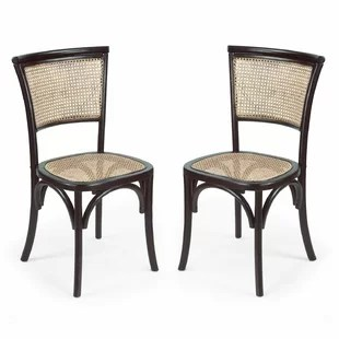 where can i buy cane for chairs the gesture chair wayfair dining side set of 2
