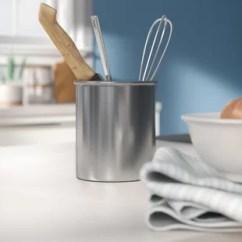 Kitchen Tool Crock Countertop Wayfair Stainless Steel Utensil