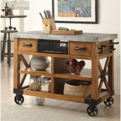 Wooden Kitchen Cart Aid Mixer Cover Loon Peak Whyte Wood Wayfair Ca