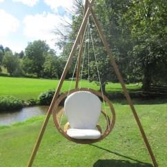 Swing Chair Pics Folding Web Lawn Chairs Bambrella Circa With Stand Wayfair