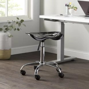 revolving chair for doctor large flower sash office stools you ll love wayfair quickview