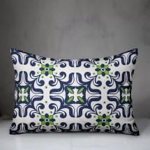 Bungalow Rose Reliford Tile Indoor Outdoor Lumbar Pillow