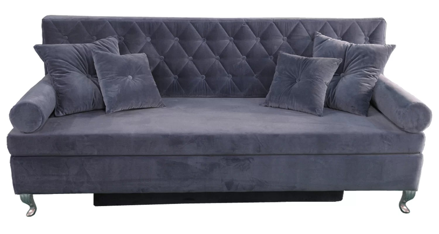baroque sofa uk pottery barn chesterfield leather happybarok 3 seater bed and reviews wayfair co