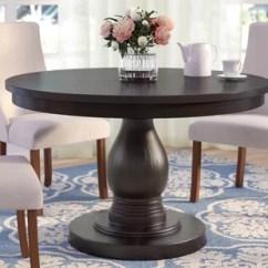 Kitchen Table Round White Cart 32 Inch Dining Wayfair Barrington