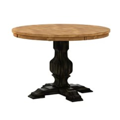 Pedestal Kitchen Table Kits Dining Tables Joss Main Fortville Solid Wood