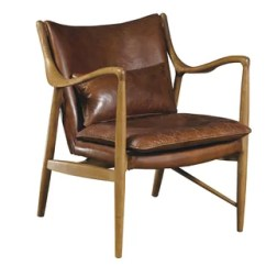 Leather Chair Modern Stretch Covers For Wingback Chairs Uk Accent Allmodern Quickview