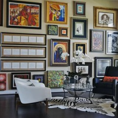 Living Room Picture Wall Floor Seating How To Decorate A Large Wayfair Gallery