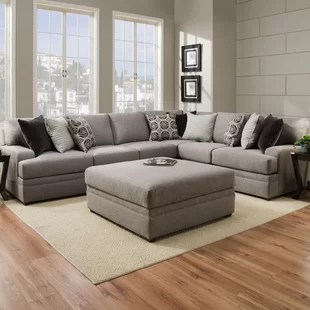circular couches living room furniture decorating ideas dark wood floors curved sectionals you ll love wayfair quickview