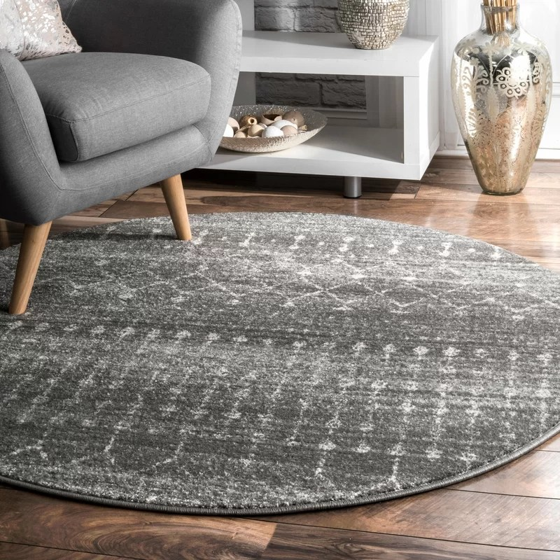 dark grey living room rugs pictures for the walls clair gray area rug reviews birch lane