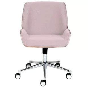 desk chair pink movie room chairs blush wayfair quickview