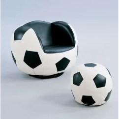 Ball Chair For Kids Covers Homestore And More Yoga Wayfair Knopf Soccer Ottoman